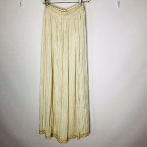 Vintage Edmond Who? Boho Hippy Peasant Skirt